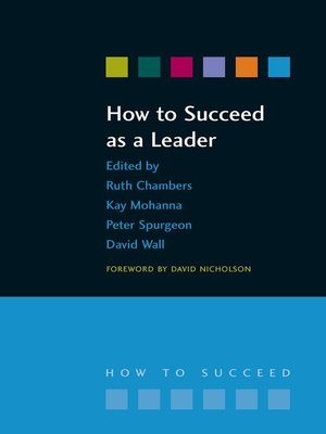 cover image of How to Succeed as a Leader